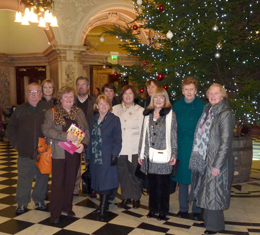 St Mary's University College Alumni Association on a guided tour of Belfast City Hall