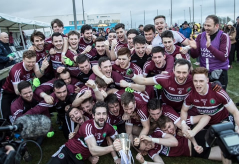 St Mary's winning Sigerson team