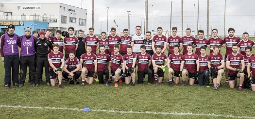 Sigerson Cup Management Team and Players pictured at the event