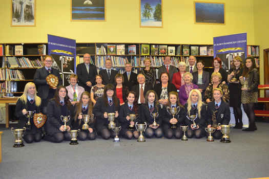 St Rose's Dominican College annual prize-giving ceremony